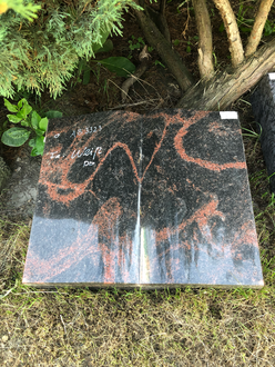 Liegestein Buch Aurindi Granit 50x12x40cm
