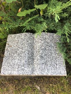 Liegestein Buch Tarn Granit 50x12x40cm