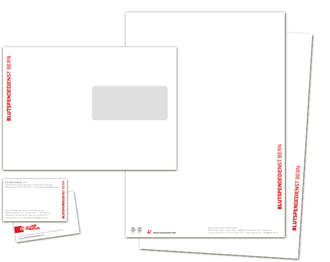 Blutspendedienst Bern AG - Akzidenzen