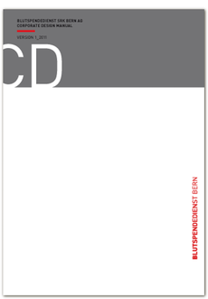 Blutspendedienst Bern AG - CD-Manual