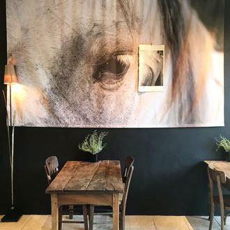 The timeless Camargue by Elizabeth Baille at the Hameau's gallery