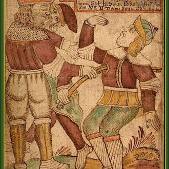 Balders Tod, Quelle: Snorri Edda
