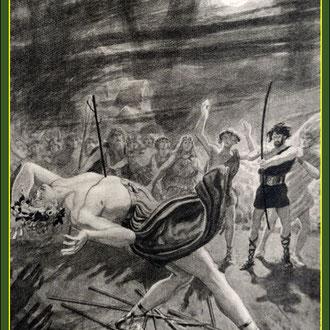 Balders Tod, Quelle: Edda, Götterlieder/Heldenlieder, Berlin 1943