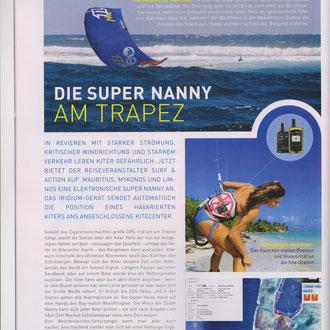 Bericht im KITE Magazin 3/2014
