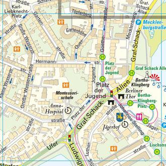 Karte 4: Platz der Jugend