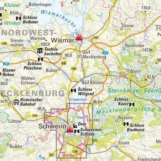 Karte 2: Mecklenburg-Schwerin