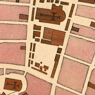 Seutter 1750: ohne Schrifteinträge