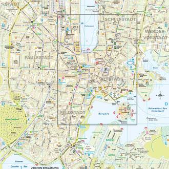 Karte 4: Zentrum & Vorstädte