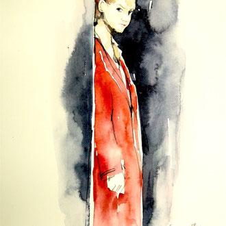 Modedesign Modeillustration, Mode zeichnen lernen, Mappenkurs Modedesign, Modedesign studieren