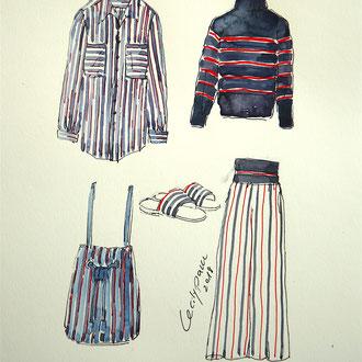 Mappenkurs Modedesign, Modedesign studieren, Illustrieren Mode, Modezeichnen lernen, Modedesignstudium Düsseldorf, München