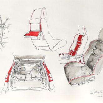 Transportation Design, Automobil Zeichnen lernen, Mappenkurs Transportation Design, Transportation Design studieren