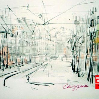 Mappenkurs Architektur, Architekturzeichnen, Architektur Mappe, Architekturstudium HSD Düsseldorf