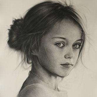 Portraitzeichnen, Portraitkurs, Kinderprotraits mit Kohlen zeichnen , Portraitkurs für Fortgeschrittene, Mappenkurs Düsseldorf