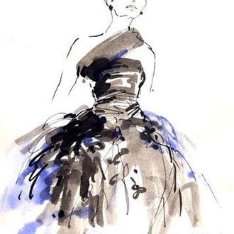 Mappenkurs Modedesign, Modedesign studieren, Modeillustration, Modezeichnen lernen, Studium Modedesign Düsseldorf, München