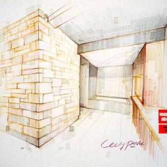 Mappenkurs Architektur, Architekturzeichnen, Architekturmappe, Studium Architektur HSD Düsseldorf
