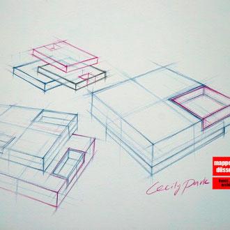 Mappenkurs Möbeldesign, Möbelzeichnen, Möbeldesignstudium , Möbeldesign studieren, Mappenkurs Düsseldorf NRW