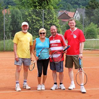 hat Spaß gemacht - Team Lehrer gegen Bayern Fun Club