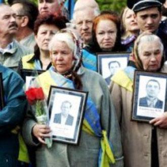 Den årlige mindemarch i Kiev