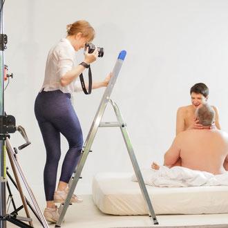 erotische Paarfotoshooting - Fotoshooting intim  - Fotografin für diskrete Aufnahmen - Privat Fotosession - erotische Portraits - p-art - Ortenau