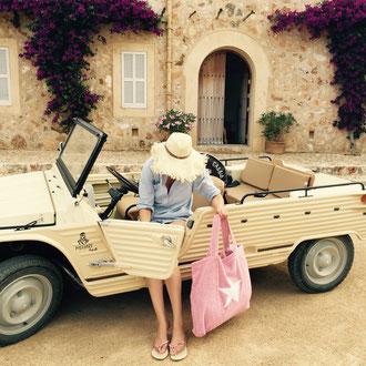 BYRH Bag -Rosa - Finca - Mehari Citroen - Mallorca - Ibiza