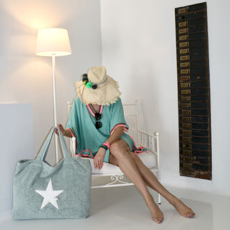 BYRH Strandtasche - Beach Bag - Mint - Boutique Hotel
