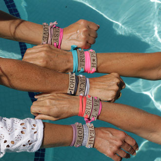 Haende Bracelets BYRH - Love - Peace