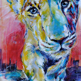 """""""LionArt"""" 80 x 100 cm"""
