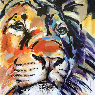 """""""WildLife"""" 120 x 150 cm"""