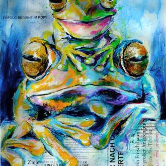 """Froschkönig"" 60 x 80 cm"