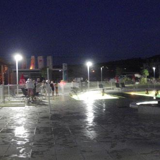 lot et bastides  piscine nocturne