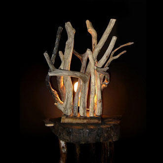 "lampada ""prima"" in legno_Antonio Arca"