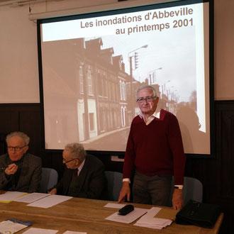 LES INONDATIONS D'ABBEVILLE AU PRINTEMPS 2001. Conférence de Roland Beuvain