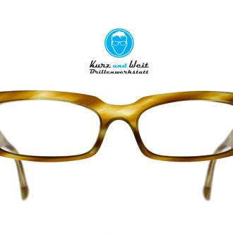 handefgertigte brillenfassung / im kundenauftrag / copyright by kurz & weit brillenwerkstatt