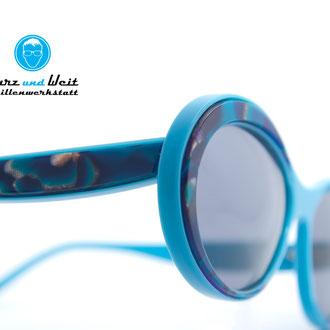 handgemachte brillenfassung / prototyp / copyright by kurz & weit brillenwekstatt