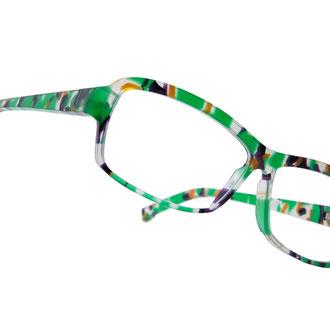 handgefertigte brillenfassung / im kundenauftrag / copyright by kurz & weit brillenwerkstatt