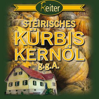 Reiter Steirisches Kürbiskernöl  Logo