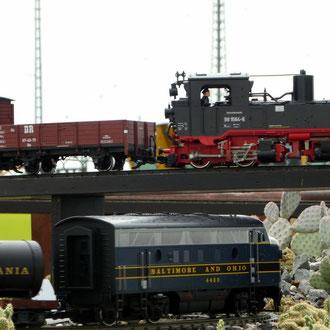 Holzverlade/Eisenbahn