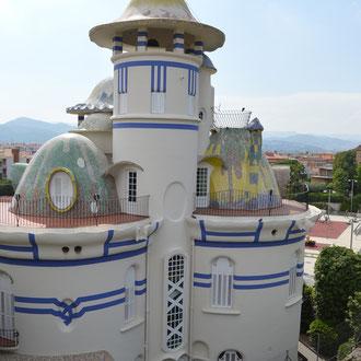 Torre de la Creu. Sant Joan Despí, 1913 - 1916.  Imatge: Raúl Sanz, 2016.