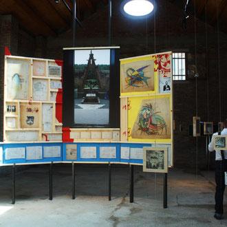 Tríptic casa Bofarull al pavelló català 14 Biennale di Architettura di Venezia. 2014. Fotografía: Paty Nuñez Agency