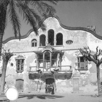 Francesc Català-Roca. Can Negre. Imatge extreta del full de contacte. 1970. Fons Fotogràfic F. Català-Roca de l'Arxiu Històric del Col·legi d'Arquitectes de Catalunya