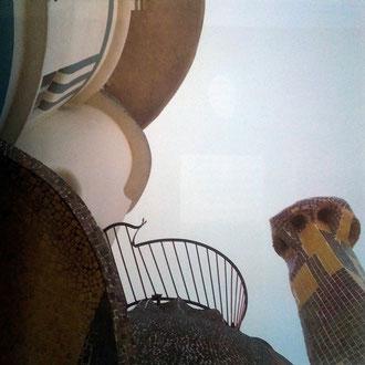 Toni Catany. Detall de la Torre de la Creu. Cases modernistes de Catalunya. 1991.