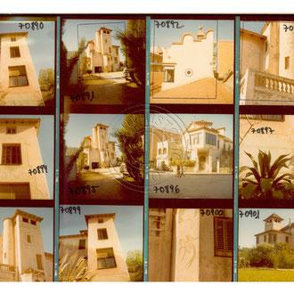 Francesc Català-Roca. Full de contacte. 1970. Fons Fotogràfic F. Català-Roca de l'Arxiu Històric del Col·legi d'Arquitectes de Catalunya
