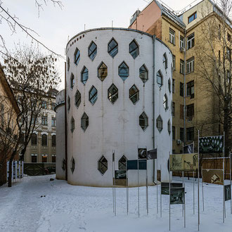 Casa Melinkov. Moscú. 1927 - 1929. Imatge: Wikipedia.