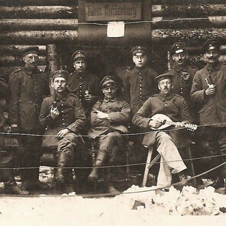 Liborius Hake im I. Weltkrieg
