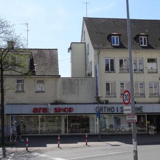 Hier entstehen Wohnungen und Gewerbeflächen, Friedrichshafen