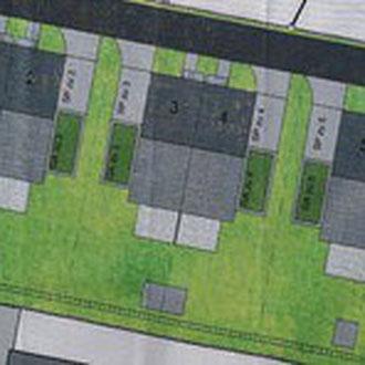 Grobansicht Planungsphase der 6 DHH, Meckenbeuren