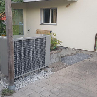 Luft-Wasser-Wärmepumpe von bern.solar in Thierachern bei Thun