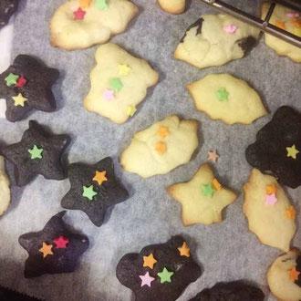 可愛いクッキーができました。