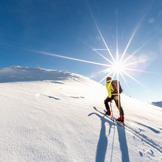 Daniel Fritschi auf Skitour
