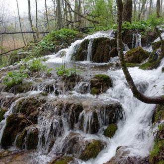 Plitvitzer Wasserfälle in Kroatien